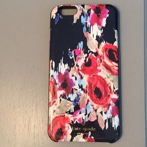 Late Kate Spade iPhone 6S cover.